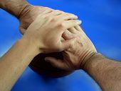 3 Hands On A Ball