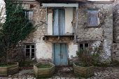 Old Worn House In Greece
