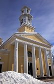 St. John Church, President's Church, Lafayette Park After Snow Washington Dc
