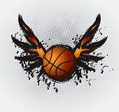 Basketball Design Element Set