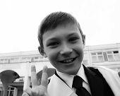 a schoolboy