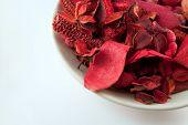 Bowl of Red Potpourri