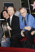 LOS ANGELES - SEP 14: Seth MacFarlane, Bill Maher and Larry King at the Walk of Fame ceremony where