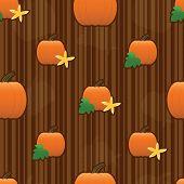 Pumpkin Seamless Tile