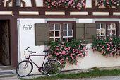 Farmhouse And Bike