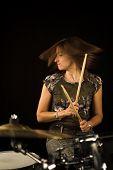 Woman Drummer
