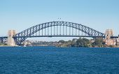 Sydney Harbour Bridge On A Blue Day