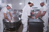 Dairymen, Who Prepare The Mozzarella