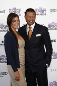 SANTA MONICA, CA - FEB 25: Terrence Howard at the 2012 Film Independent Spirit Awards on February 25