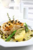 Codfish and potatoes