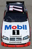 FONTANA, CA. - OCT 9: Sprint Cup Series driver Sam Hornish Jr. in the Mobil 1 #77 car during the Pep