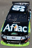 FONTANA, CA. - OCT 9: Sprint Cup Series driver Carl Edwards in the Aflac #99 car during the Pepsi Ma