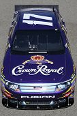 FONTANA, CA. - OCT 9: Sprint Cup Series driver Matt Kenseth in the Crown Royal #17 car during the Pe