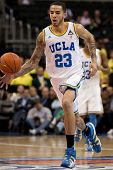 LOS ANGELES - MARCH 10: UCLA Bruins F Tyler Honeycutt #23 in action during the NCAA Pac-10 Tournamen