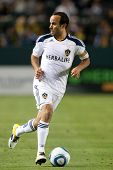 CARSON, CA. - MAY 14:  Los Angeles Galaxy F Landon Donovan #10 in action during the MLS game on May