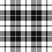 Tartan Plaid. Scottish Pattern In Black And White Cage. Scottish Cage. Traditional Scottish Checkere poster