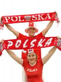 Polish Soccer Fans poster