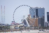 View of the skywheel