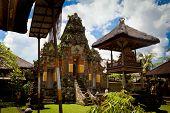 image of saraswati  - Temple at the village near Ubud on Bali - JPG