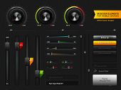 User Interface Design Elements | EPS10 Vector Graphic | Layers Organizes and Named | The Detailed No