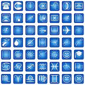 Iconos de Blue Square
