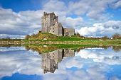 picture of galway  - Dunguaire castle near Kinvarra in Co - JPG