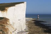 Beachy Head Lighthouse. REINO UNIDO