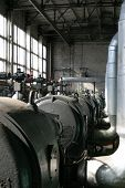picture of gizmo  - inside old thermal power station - JPG