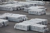 metal warehouse ingots