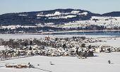 Schwangau City In Winter