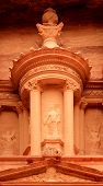 foto of square mile  - Nabatean architecture detail of  - JPG
