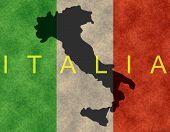flag italian banner