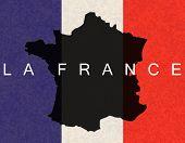 flag la france