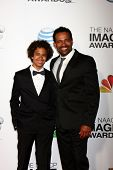LOS ANGELES - FEB 1:  Mario Van Peebles arrives at the 44th NAACP Image Awards at the Shrine Auditor
