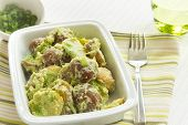 Potato Salad With Avocado And Sour Cream Dressing