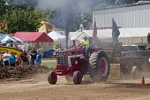 Red International Turbo Tractor