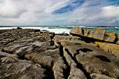 Doolin's Bay, The Burren. Panorama