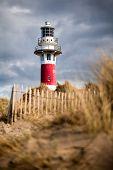 Lighthouse in Nieuwpoort.