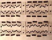 Old Music Sheet