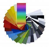 Cartela de cores de propagação