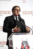 LOS ANGELES, CA - FEB 4: David O Russell at a ceremony where Robert De Niro is honored with hand and foot prints at TCL Chinese Theater on February 4, 2013 in Los Angeles, California