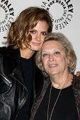 LOS ANGELES - SEP 30:  Stana Katic, Nancy Seltzer at the An Evening with Castle at Paley Center for
