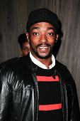 NEW YORK-SEP 28: Actor Anthony Mackie attends the grand opening of TAO Downtown at the Maritime Hotel on September 28, 2013 in New York City.