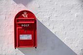Danish Red Mailbox