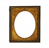 daguerreotype oval picture frame