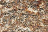 foto of feldspar  - detail of the different minerals that make up a rock - JPG