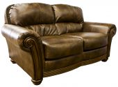Sofá de cuero sofá de dos plazas