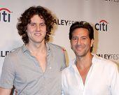 LOS ANGELES - MAR 16:  Eli Cusick, Henry Ian Cusick at the PaleyFEST -