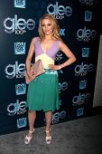 LOS ANGELES - MAR 18:  Dianna Agron at the GLEE 100th Episode Party at Chateau Marmont on March 18,