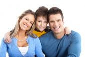 foto of happy family  - Happy family - JPG